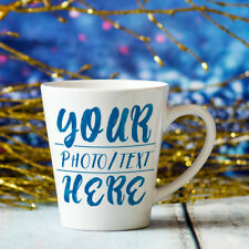 Personalised Mug Deco 10oz Customized Photo Image Text Coffee Cup Gift