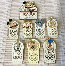 Disney Olympic Pins - 2004