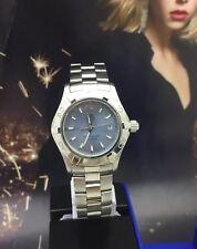 Tag Heuer Aquaracer Ladies Blue MOP 300M 28MM Women's Watch.