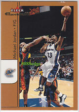 "2001-02 FLEER MAXIMUM BASE CARD: MICHAEL JORDAN #165 WASHINGTON WIZARDS ""READ"""