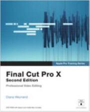 Apple Pro Training Series: Final Cut Pro X (2nd Edition), Weynand, Diana, Good B