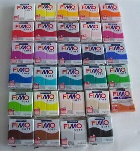 Fimo soft Modelliermasse ofenhärtend 57gr -- Farbe frei wählbar 3,14€/100gr
