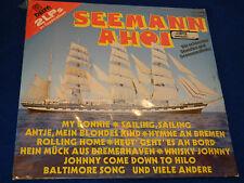 new vintage SEALED 2 LP seemann AHOI hamburger veermaster CHOR petersen SCHEU