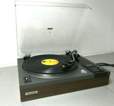 Pioneer PL-112D Belt Drive stereo Turntable With NICE lid working Cart & Stylus