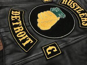 Vintage Motorcycle Club leather Vest Biker Gang