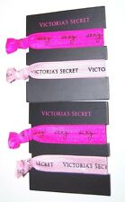 Victorias Secret Hair Ties Ponytail Sexy Pink 4 Pieces New Accessory VS Fitness*