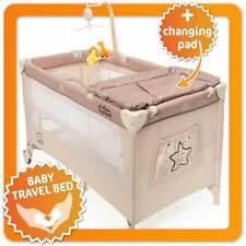 Baby Reisebett Deluxe - Babycenter Kinderreisebett Kinderbett mit Wickelauflage