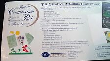 Creative Memories Rare Combo Pack~Football~Sticker Strips~Die-Cuts NIIP/NLA