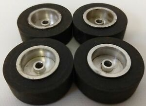 "Lot 4x HERKIMER toy Tire Slicks OK CUB CART GO KART HOT ROD Tether Car 1-1/4"""