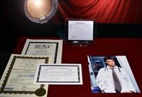 E.R. NOAH WYLE Signed AUTOGRAPH with George Clooney Prop RX, The Librarian, COA