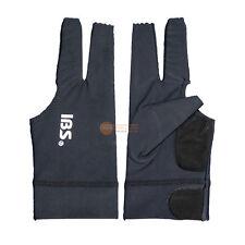 5pcs[IBS] Billiards Three Fingers Glove Professional  Spandex Snooker Pool Black