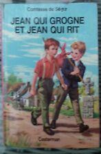 Comtesse de Ségur - Jean qui grogne et Jean qui rit - Casterman 1974