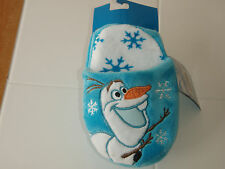 Disney FROZEN OLAF Plush Bedroom Slippers Size Small 11-12 BRAND NEW!