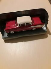 Matchbox the dinky collection DY-2 chevrolet bel air 1957 red and white model