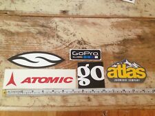 Outdoor Stickers Patagonia Atomic Smith GoPro Atlas Ski Snow