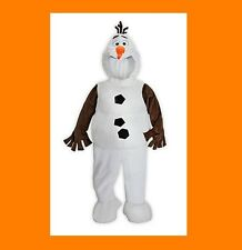 DISNEY Frozen OLAF Snowman Costume NEW Kids 5/6 Youth Authentic Disney Store