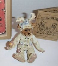 Boyds Shoe Box Bears Ellie Grizberg.Egg Hunter #3212 V 6E/687