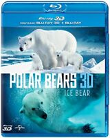 Polar Bears 3D: Ice Bear (Blu-ray 3D + Blu-ray) [2012] [DVD][Region 2]