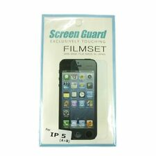 Screen Guard Film Screen Protector for iPhone 5 5s 5c Touch Screen