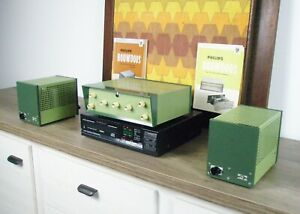 Unique Philips Stereo HF306 Full Tube Pre amplifier in MINT - NOS condition