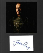 Jerome Flynn Signed 10X8 Autograph Photo - Game Of Thrones - Black Mirror