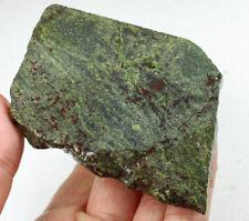 322.6Ct Natural Dragon Blood Stone Specimen Facet Rough YDB1394