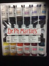 Dr.ph. Martins Hydrus Set Fine Art Watercolor 12-1/2 Us Fl.oz Bottles BRAND NEW