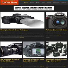 CAMERAS STORE - Mobile Friendly Responsive Website Business For Sale + Domain