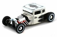 FORD MODEL A 1929 1:24 Scale HARLEY DAVIDSON Diecast Model Toy Car  Metal