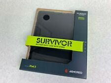 Griffin Survivor Armored Military Duty Black Apple IPad 2 Case w/ Stand