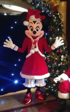 Christmas Minnie Mouse Mascot Hire Manchester Area