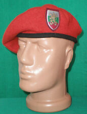 Bulgarian Army Infantry RED BERET Uniform Military Cap
