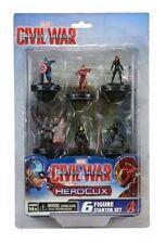 Marvel Heroclix Captain America Civil War Movie 6-figure Starter Set WZK 72274