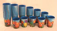 SET OF 60 ~ Disney Finding Nemo Reusable Plastic Cups ~ FREE US SHIPPING!
