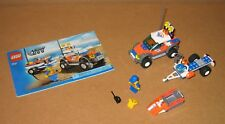 7737 LEGO Coast Guard 4WD & Jet Scooter 100% Complete w Manual EX COND 2008