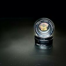 Yashica Auto Yashinon DS-M 50mm f1.4 M42 lens, recently serviced
