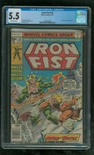 CGC 5.5 IRON FIST #14 MARVEL COMICS 8/1977 1ST APPEARANCE OF SABRETOOTH