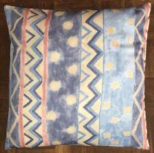 1 Pastel blue Cotton 43cm CUSHION COVER striped kids bedroom