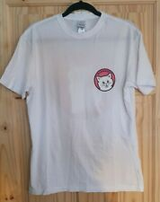 "Rip N Dip t-shirt Size M ""Stop Being A Pussy"" White BNWT"