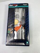 MagTorch MT 790 K 7-in-1 Pro Micro Torch Kit Butane Soldering Iron Torch Set