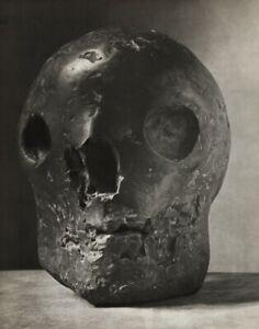 1949 BRASSAi Original Photo Gravure Of PABLO PICASSO 1943 Bronze Skull Sculpture