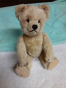 """Vintage Schuco Yes No Mohair 10"""" Teddy Bear"""