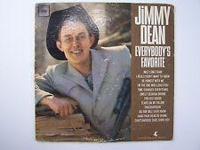 Jimmy Dean - Everybody's Favorite Vinyl LP Record Album MONO CL 2027
