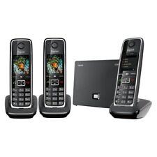 Gigaset C530 IP Trio Teléfono inalámbrico 3 terminales, DECT y Ethernet, Híirido
