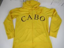 CABO Pokemon Yellow Zip Front Pikachu Hoodie Jacket Welovefine Sz L A7