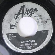 50'S & 60'S 45 The Aristocrats - Vagabonds / Maid Of The Mist On Argo