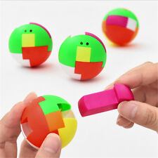 Intelligence Colorful Puzzle Assembly Balls Kids Game Funny Educational ToysSC