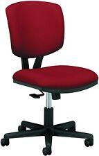 HON GA42.T Volt Task Armless Office/Desk Chair Crimson (H5703) Synchro-Tilt NEW