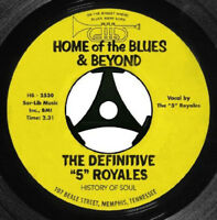 The 5 Royales : The Definitive '5' Royales - Home of the Blues & Beyond CD 2