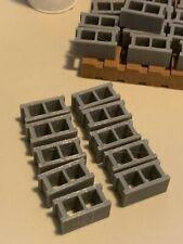 1/14 scale concrete blocks cinder blocks  Tamiya Semi